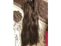 "24-26"" Milk & Blush Human Hair Extensions"
