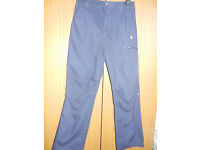 Boy's Craghoppers Navy Blue Trousers