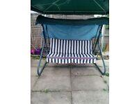 garden seat swing
