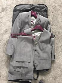 3 piece grey Next suit