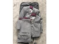 3 piece grey Next suit