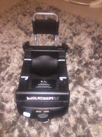 Slivercross car seat and isofix
