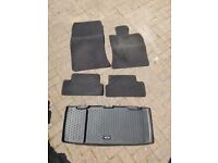Genuine MINI Rubber bootliner and car mats for 2006 - 2014 models