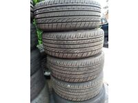 Set of 195 45 16 tyres with 7mm tread in Greenford Area