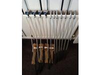 RAM Oversize Ladies Golf Club set R/H. 100% High Modulus Graphite Shafts + Bag.