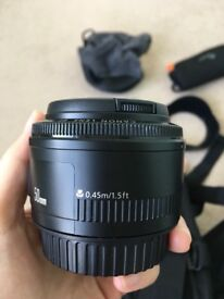Canon EF 50 mm f/1.8 II Lens *****Superb Condition*******