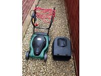 B&Q Electric Lawn Mower