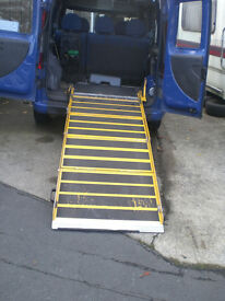 Portaramp foldable wheelchair / motorbike ramp 300kg