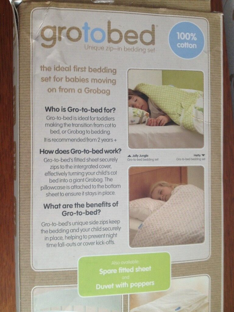 Gro To Bed Duvet Bedding Set Daisy Dream Image 1 Of 4