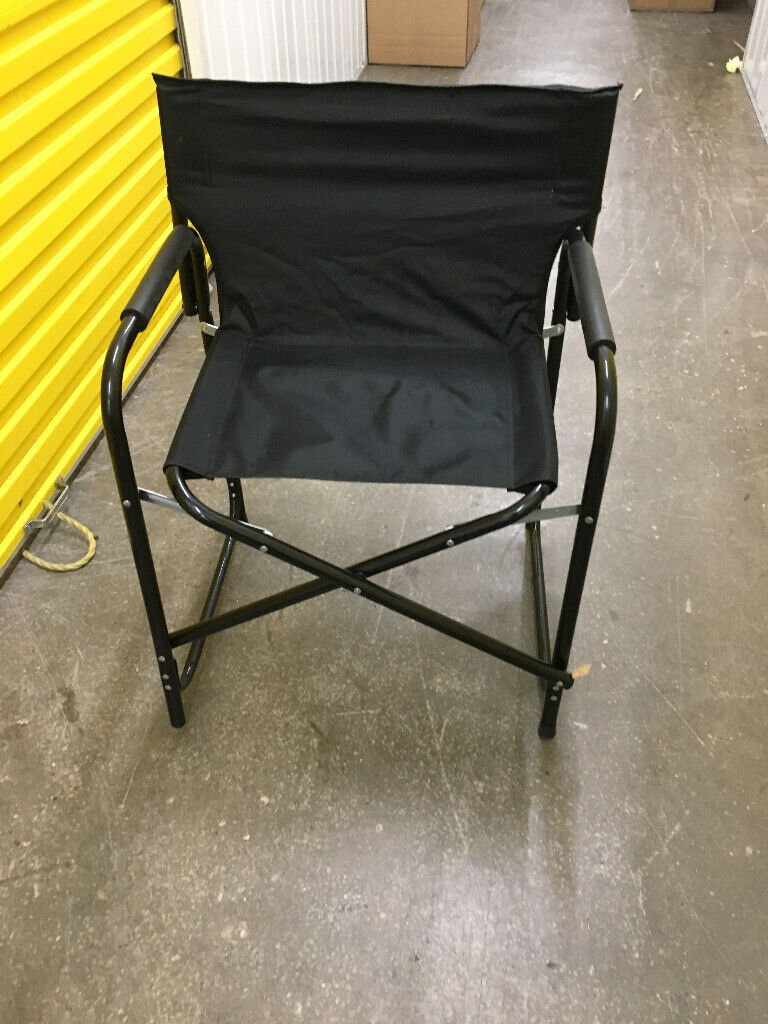 Astounding Black Fold Up Camping Chair Used Once In North Finchley London Gumtree Squirreltailoven Fun Painted Chair Ideas Images Squirreltailovenorg