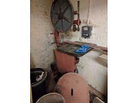 Really old vintage Bandsaw