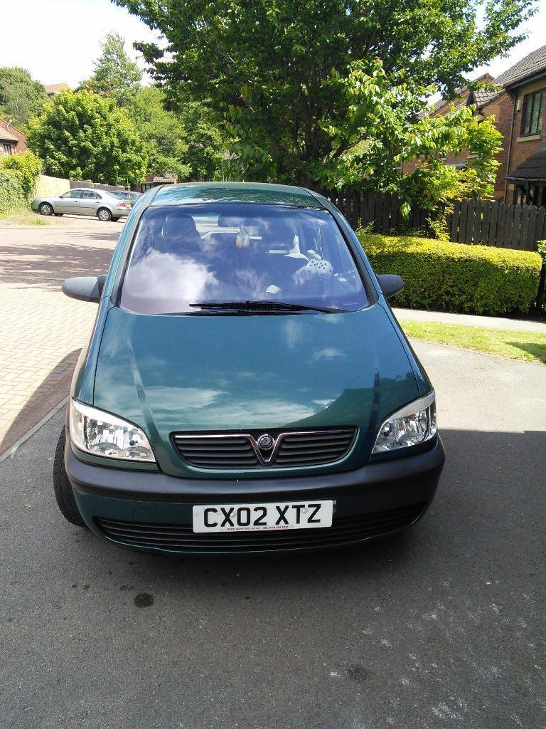 2002 vauxhall zafira club 1 6 16v green in sheffield south yorkshire gumtree. Black Bedroom Furniture Sets. Home Design Ideas