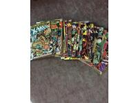 Marvel comics and annuals dating from 1970 -1990's