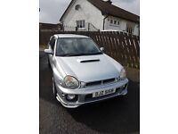 2001 Subaru Impreza in Silver. Very Good Condition. Long MOT.