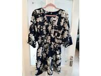 River island kimono dress size 12