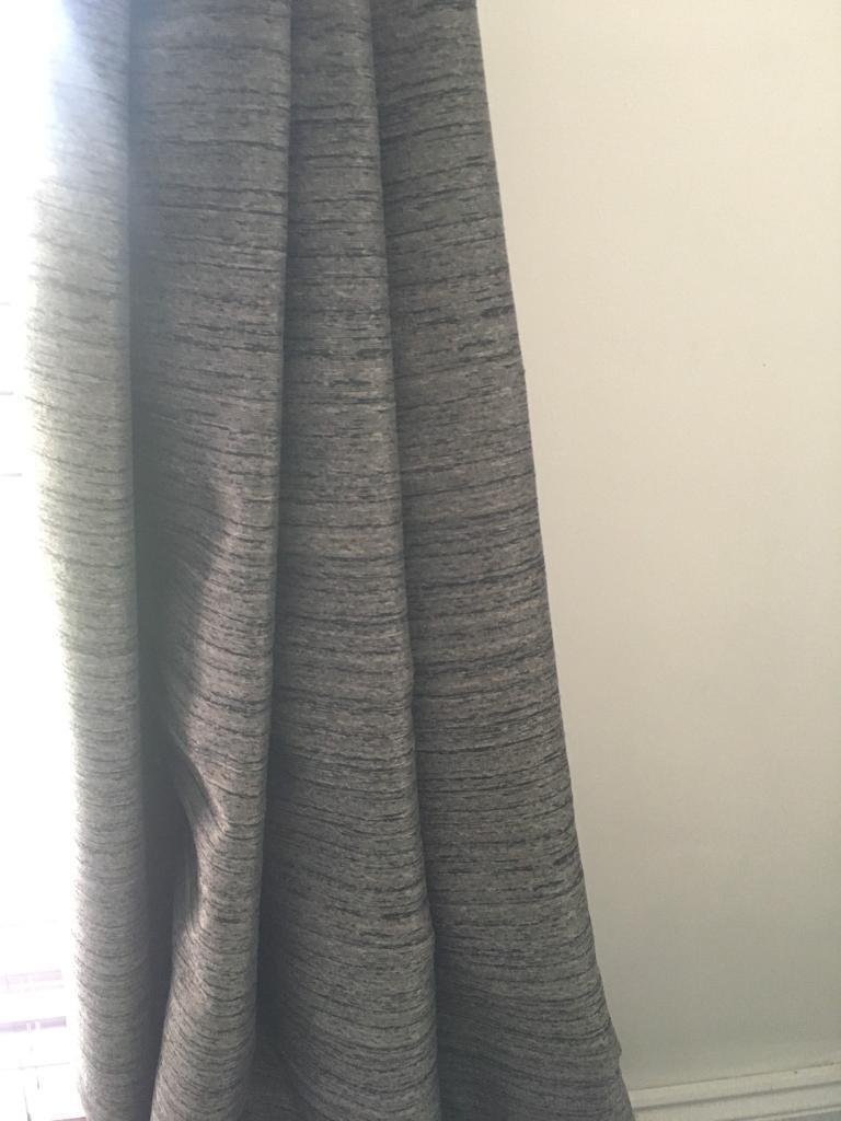 Dunelm Grey Curtains In Cowdenbeath Fife Gumtree