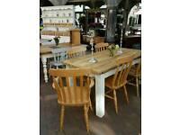 Bespoke pine table