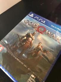 PS4 god of war new