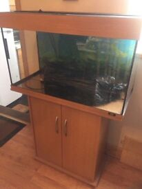 Juwel Rio Fish Tank complete with cabinet