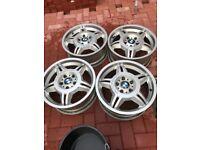 Bmw E36 Motorsport M3 EVO alloy Wheels E46 Z3 3 Series