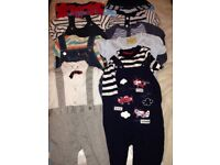 Boys all in one outfits 3-6M