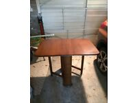 Compact Dining Table with 2 gate legs