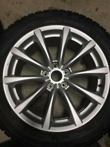 225/55/18 Toyo gsi5 hiver 10-11/32 + mags 18 pouces     Infinity