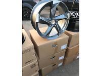 "4 18"" alloy wheels alloys rims tyre tyres vw Volkswagen audi seat Skoda 112"