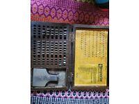 Metal stamp tool buck and hick and hickman