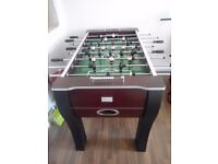 Debut wooden football table
