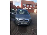 Low mileage Vauxhall Zafira 1.6 i 16v Life 5dr. Nice & smooth driving. Low price 4 Urgent sale