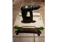 Festool CCD 12 FX 12V Professional Cordless Drill reduced £120-90 for quick sale