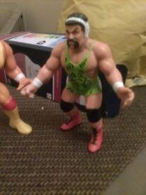 2 Wrestling Figures