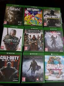 Xbox One - 9 Games Bundle