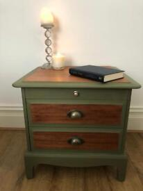 Upcycled stag Minstrel bedside drawers