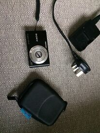 Sony cyber shot 14.1 megapixel black digital camera