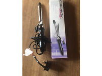 CROWN hair curling stylish iron tong/wand 19mm