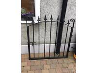 Garden gate ( black steel )