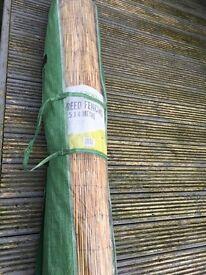 1.5 X 4 metre Reed Fencing