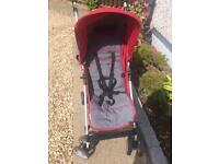 Kids toddler Buggy pram push chair stroller holiday lightweight light