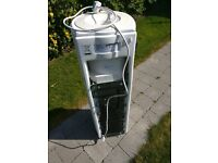 Cool & Cold Water Dispenser Upright Office Water Cooler (Crystal Mountain )