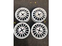 OZ Racing alloy wheels (Fit Ford/Citroen)