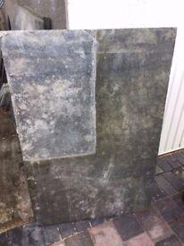 Delabole Slate slabs