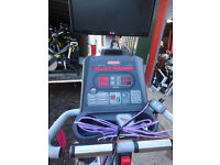 Star Trac pro Recline Bike with HDTV