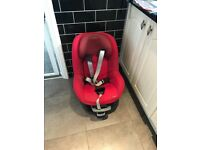 Isofix with car seat