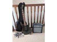 JHS Vintage Guitar & Amp set