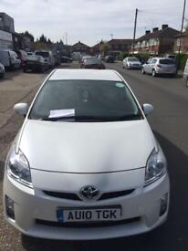 Toyota Prius PCO car to rent or hire white £100 week