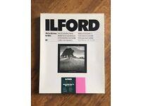 Ilford Multigrade 10x8 Photographic Paper