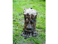 Large Tree Face Stump Gold