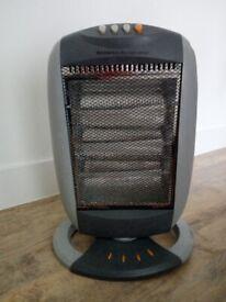 Wickes heater heating fan